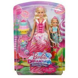 Barbie Dreamtopia Słodki Podwieczorek zestaw dwóch lalek FDJ19