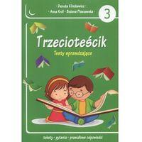 Książki dla dzieci, Trzecioteścik Testy sprawdzające (opr. miękka)