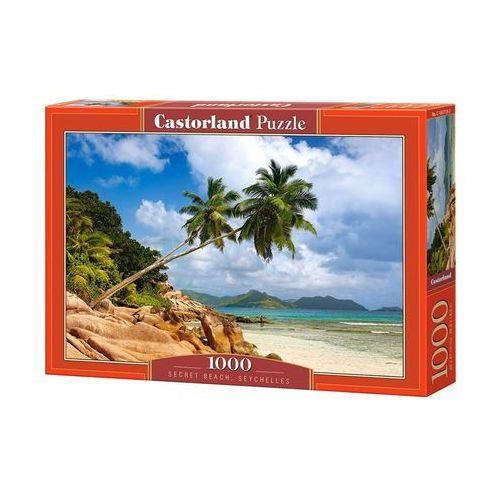 Puzzle, Puzzle 1000 Secret Beach, Seychelles - Castor OD 24,99zł DARMOWA DOSTAWA KIOSK RUCHU