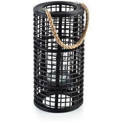 LUCIE BLACK Lampion h50x24.5cm