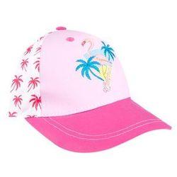 Czapka YO! CZD-383 Pink Flaming Girl 48-52cm, wielokolorowy. YO!, 48-52cm