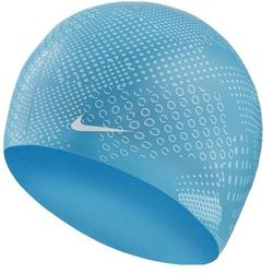 NIKE CZEPEK OS OPTIC CAMO SILICONE CAP LT BLUE FLURY