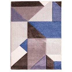 Dywan VEGAS brązowo-niebieski 120 x 160 cm 2020-02-12T00:00/2020-03-02T23:59