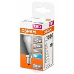 OSRAM żarówka kropla LED E14 5,5W 840 Star, matowa