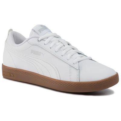 Sneakersy smash wns v2 l 365208 12 puma whitegray violet gum, Puma