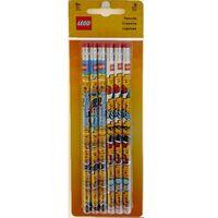 Ołówki, 51140 ZESTAW OŁÓWKI Z GUMKAMI - LEGO GADŻETY