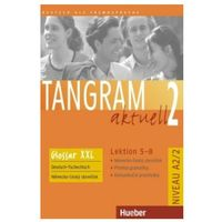 Książki do nauki języka, Tangram Aktuell 2, Lektion 5 - 8:: Glossar Xxl Deutsch - Tschechisch (opr. miękka)