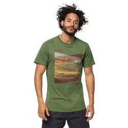 T-shirt męski MOTOSU LAKE T M deep forest - XXL