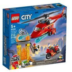 LEGO Klocki City 60281 Strażacki helikopter ratunkowy 60281