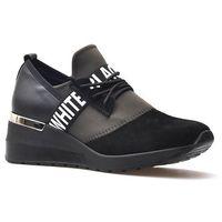 Damskie obuwie sportowe, Sneakersy CheBello 2358-034-142-PSK-S68 Czarne+Czarny
