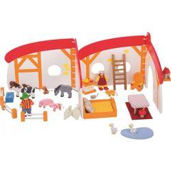 Domek dla lalek - mobilna farma