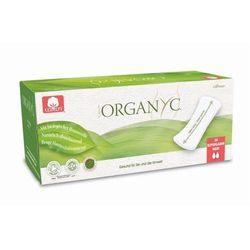 Cienkie wkładki higieniczne z bio-bawełny Maxi (♠♠)