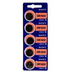5 x bateria litowa mini Sony CR1632