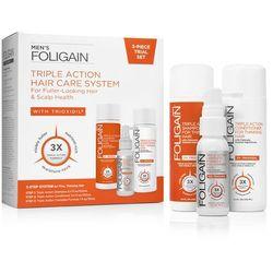 Foligain 3-częściowy zestaw przeciw wypadaniu włosów dla mężczyzn