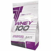 Odżywki białkowe, TREC WHEY 100 900g 100% BIAŁKO SERWATKOWE NATURAL