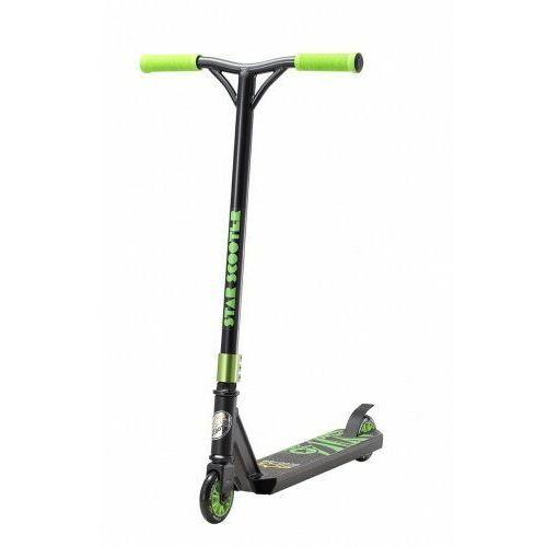 Hulajnogi, Hulajnoga wyczynowa BikeStar STUNT 100 czarno - zielona