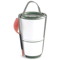 Pojemnik na lunch Lunch Pot oliwkowo-pomarańczowy