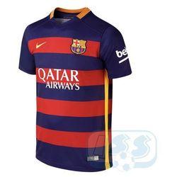 RBAR118j: FC Barcelona - koszulka junior Nike