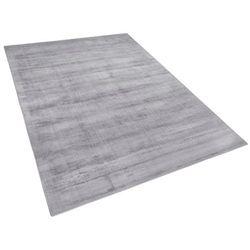 Dywan jasnoszary 160x230 cm krótkowłosy - chodnik - wiskoza - GESI