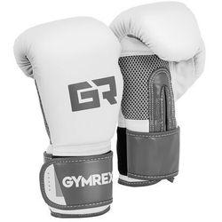 Rękawice bokserskie - 8 oz - jasnoszary metalik