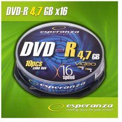 Płyty DVD-R Esperanza 4.7GB 16x Speed (Cake 10 szt.)