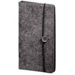 CD WALLET FELT 48 CD, SZARY