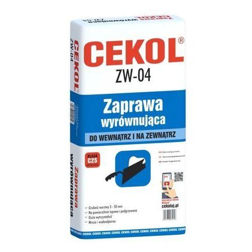 Zaprawy i szpachle, Zaprawa wyrównująca Cekol ZW-04 22 kg