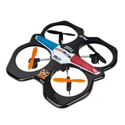 RC Quadrocopter Police - Carrera