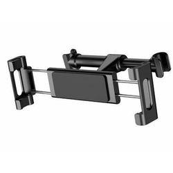 BASEUS Uchwyt samochodowydo tabletu na zagłówek czarny SUHZ-01