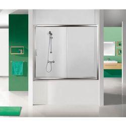 SANPLAST drzwi nawannowe TX5 170 wnękowe szkło CR (parawan) D2-W/TX5b-170 600-271-1570-38-371