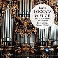 Pozostała muzyka rozrywkowa, BACH: TOCCATA & FUGE DIE SCHÖNSTEN ORGELWERKE / BEST-LOVED ORGAN WORKS - Jacob (Płyta CD)