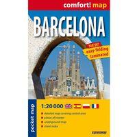 Mapy i atlasy turystyczne, Barcelona - Laminowany Plan Miasta 1:20 000 (opr. miękka)