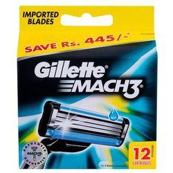 Gillette Mach 3 Spare Blades zapasowe ostrza (Cartridges)