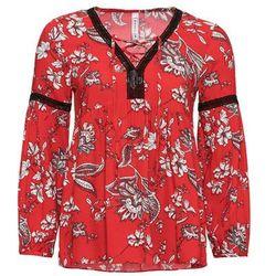 Koszulka z kokardkami (2 szt.) bonprix brzoskwiniowy z nadrukiem + jasnoróżowy