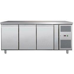 Stół chłodniczy 3-drzwiowy | +2°C/+8°C | 420L | 300W | 1795x700x(H)890mm