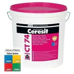 Tynk silikonowy CERESIT CT74 1,5mm 25kg CALIFORNIA 6