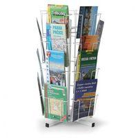 Ramy,stojaki i znaki informacyjne, Obrotowy stojak stołowy na kartki pocztowe, mapy, 24 kieszeni