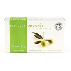 Mydło głęboko oczyszczające z oliwek - Bentley Organic