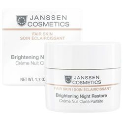 Janssen Cosmetics BRIGHTENING NIGHT RESTORE Rozjaśniający krem na noc (3320)