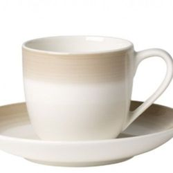 Villeroy & Boch - Colourful Life Natural Cotton Filiżanka do espresso ze spodkiem