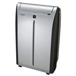 Klimatyzator przenośny SHARP CVP 10PR - PLASMA CLUSTER na ok. 20-25m2 - Super Cichy + gratis