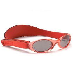 Okulary przeciwsłoneczne dzieci 0-2lat UV400 BANZ - Red