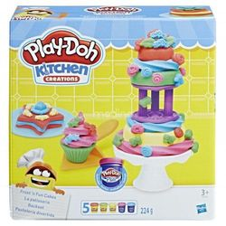 Hasbro PlayDoh Lukrowane ciasteczka - DARMOWA DOSTAWA OD 199 ZŁ!!!
