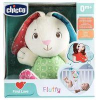 Pozostałe zabawki dla najmłodszych, First Love: Grający królik Fluffy