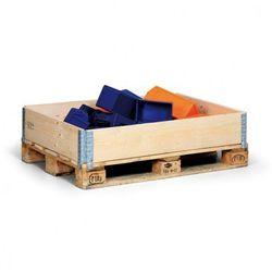 Nadstawka paletowa drewniana, 1200x800x200 mm, 5 szt.