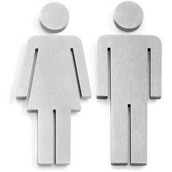Szyld toalety Zack Indici Kobieta/Mężczyzna