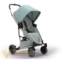 Od YouKids ZAPP FLEX PLUS 2w1 Quinny gondola LUX wózek głęboko-spacerowy forest on grey + grey on grey
