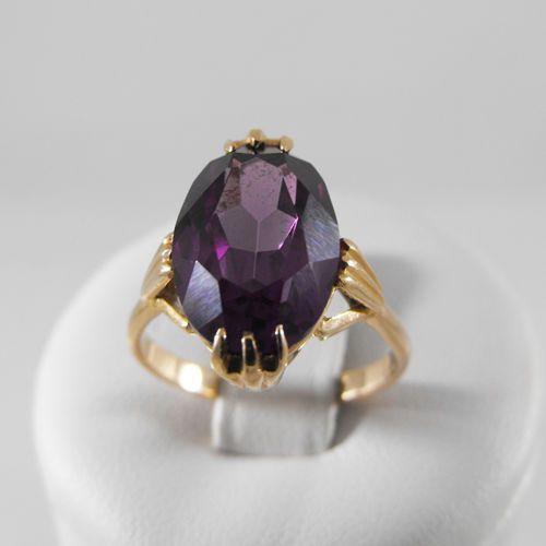Pierścionki i obrączki, Złoty pierścionek P1245