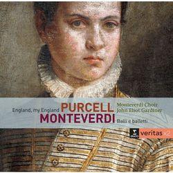 MONTEVERDI: BALLI E BALETTI / ENGLAND MY ENGLAND - John Eliot Gardiner (Płyta CD)