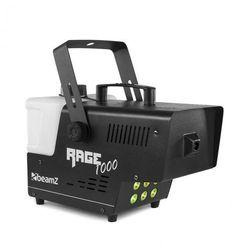 Beamz Rage 1000 LED, wytwornica mgły, 6 diod LED RGB o mocy 3 W, 125 m3/min, 2 l pojemności, 1000 W